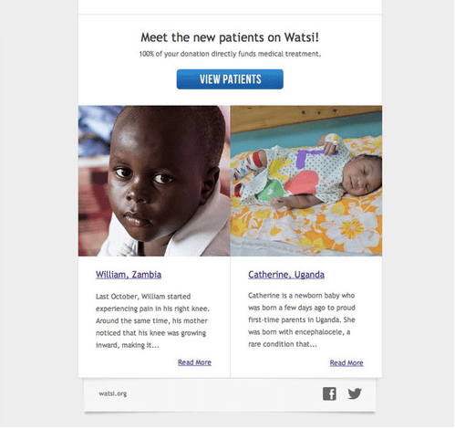 fundraising email strategy
