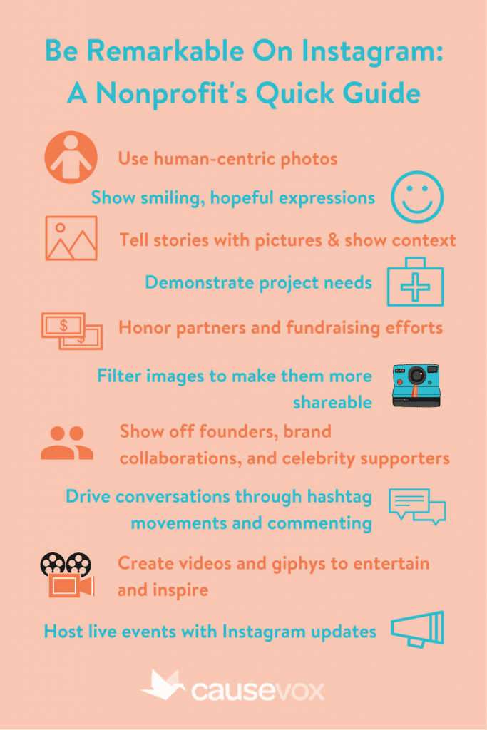 Be Remarkable On Instagram- A Nonprofit's Quick Guide