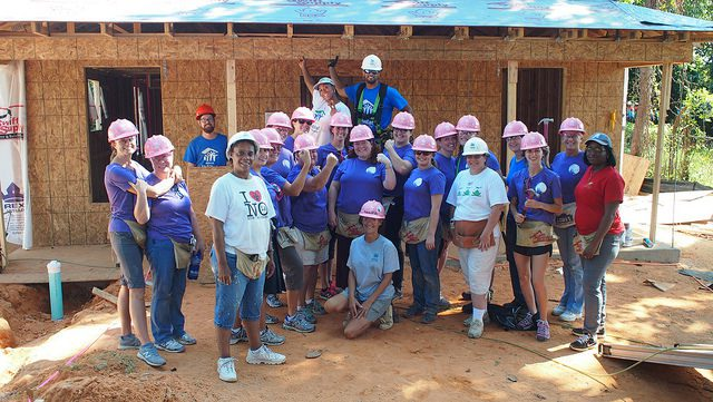 This is a story of women building a house, but it's also a story about community, togetherness, and home--all things that evoke strong emotions.