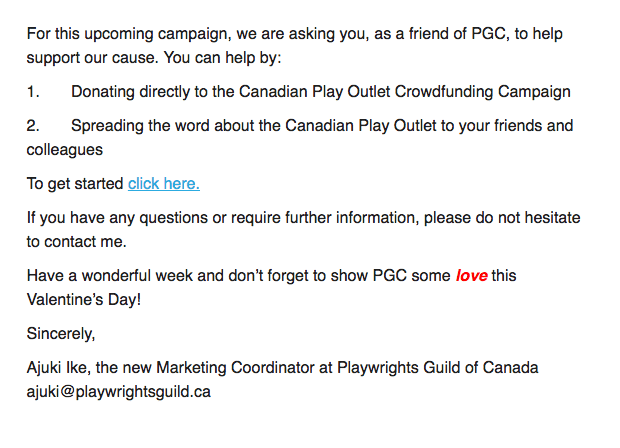 pgc campaign launch email 2