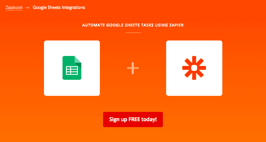 google sheets zapier streamline fundraising