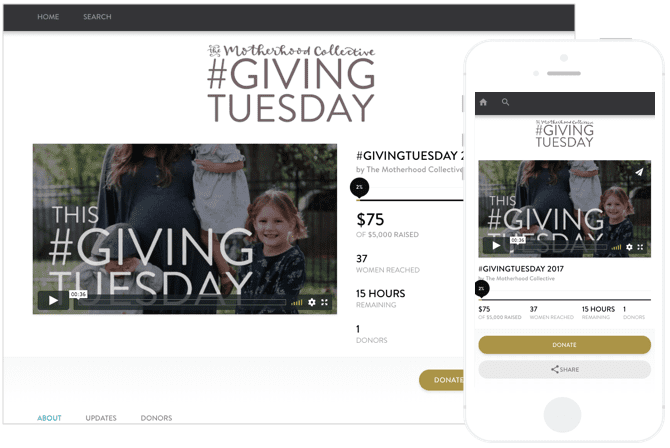The Motherhood Collective GivingTuesday 2017
