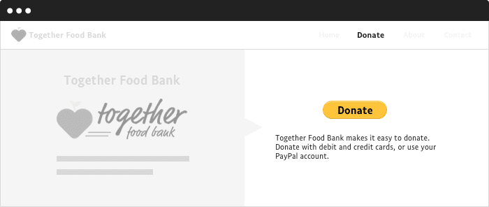 It S Unprofessional To Use Paypal As Your Donate Button Causevox