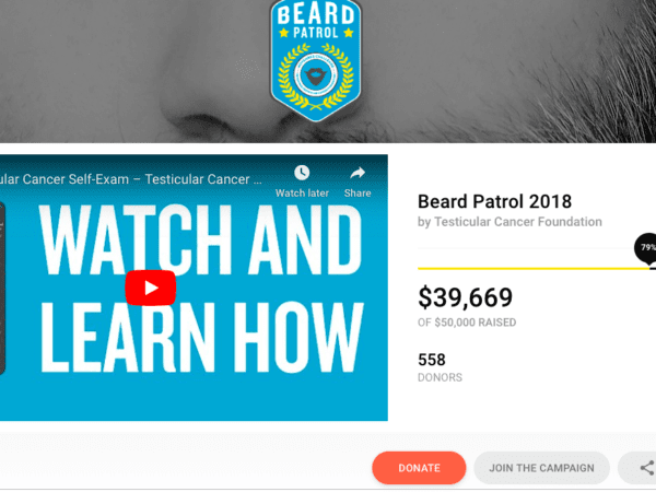 Testicular Cancer Foundation Uses CauseVox To Fight Cancer And Save Lives
