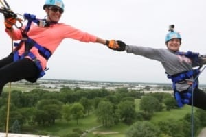 Girl Scouts of Northern Illinois Take Their Fundraising Over The Edge