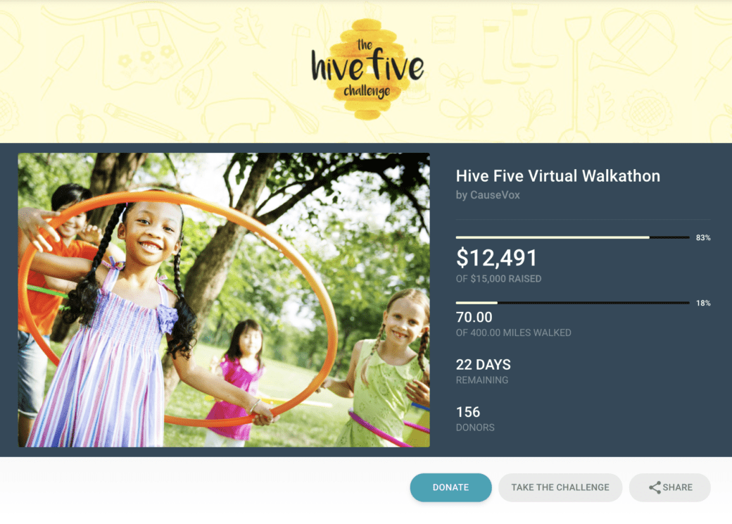 virtual-walkathon-activity-metric