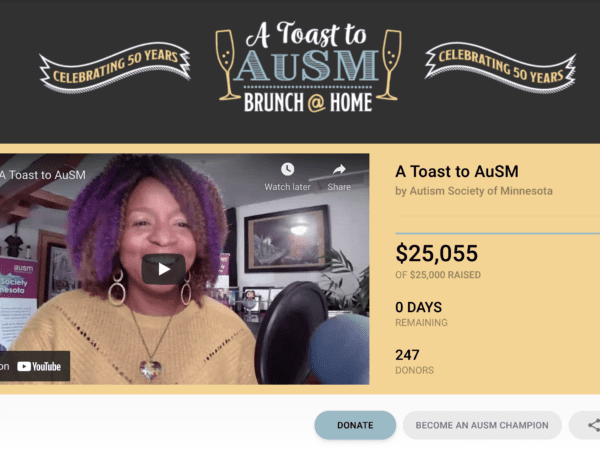 Customer Story: The Autism Society of Minnesota Raises Over $25k For Their Virtual Event With CauseVox