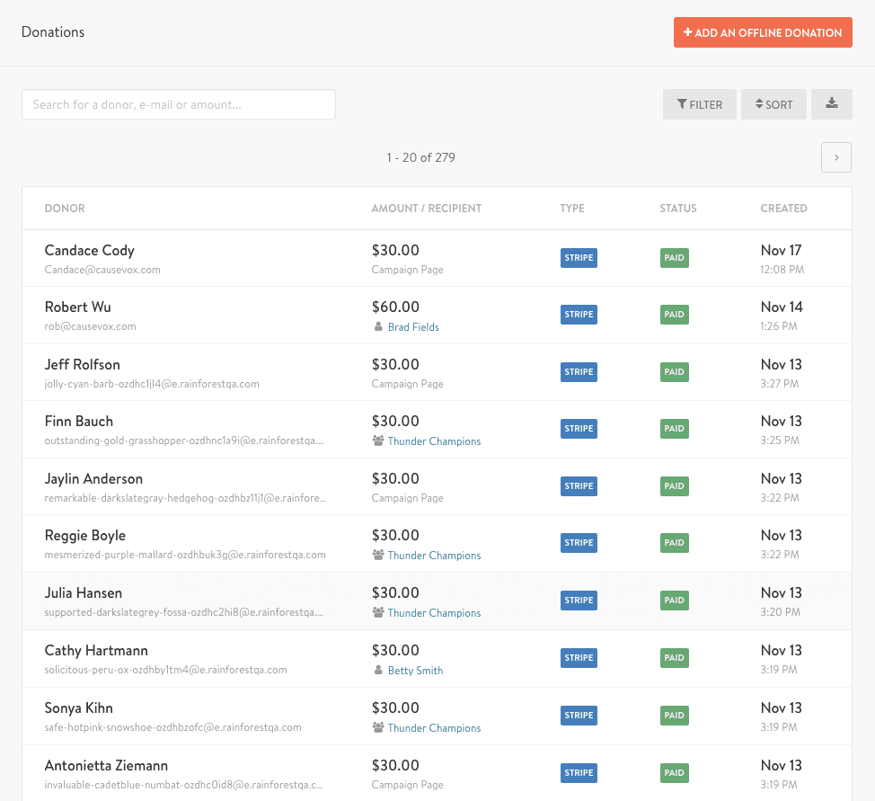 donation-page-listing